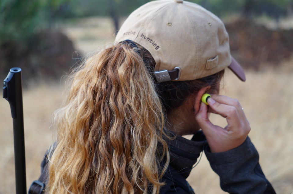 proteccion sonora para cazadores