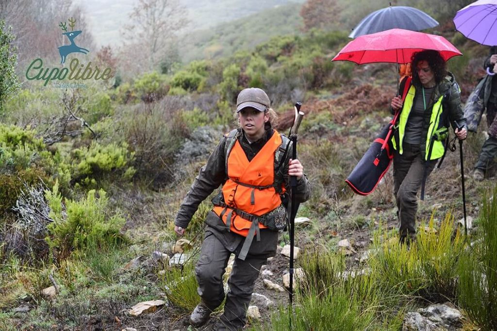 mujeres cazadoras pilar escribano cupolibre