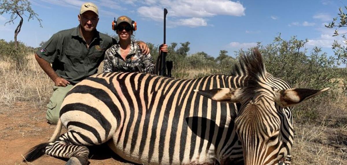 SAFARI AFRICANO mujeres cazadoras